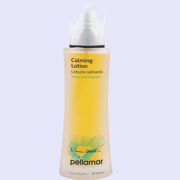 Calming lotion for face